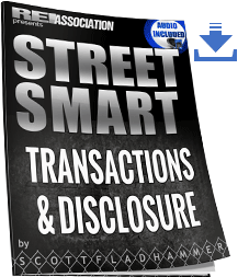 Street Smart Transaction & Disclosure guide for investors Real Estate Option